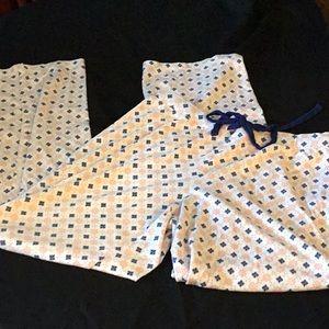 Lic Claiborne Pajama Bottoms